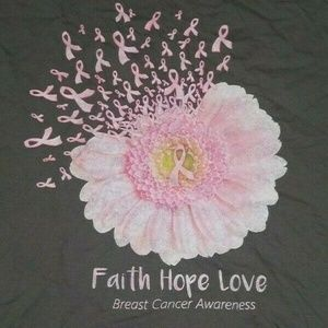 Other - Breast Cancer Awareness - Faith Hope Love 2XL Tshi